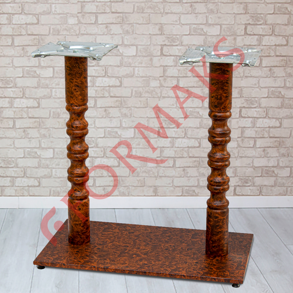 Rectangular Cafe Table Legs