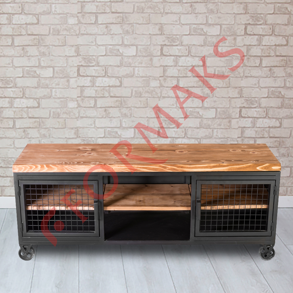 Metal TV Unit