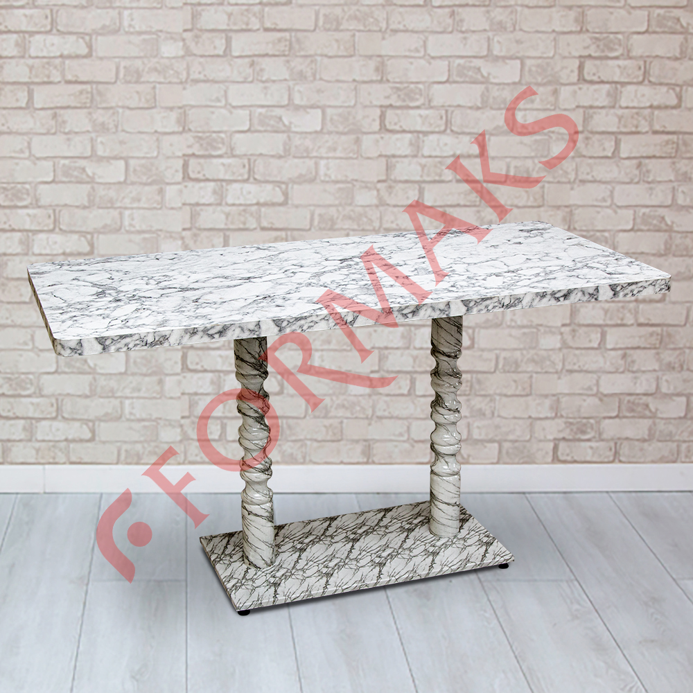 Marble Patterned Table